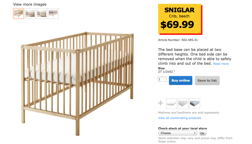 Ikea Baby Products Just Brit
