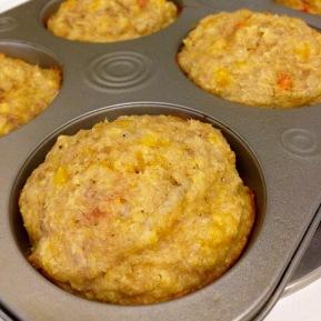 Tuna Cornbread Muffins