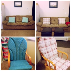 Easy Living Room Makeover