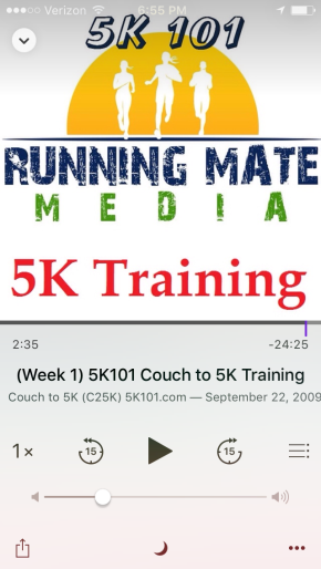 BBG Pre-Training Week 2 and Couch to 5k