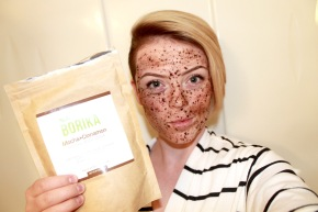Borika Mocha + Cinnamon Natural Body Scrub